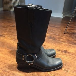 Frye heirloom harness boot tall